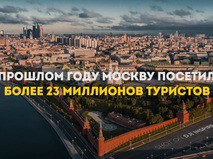 Туристы любят Москву