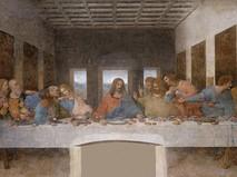 Тайная вечеря. Фреска Леонардо да Винчи