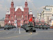Военный парад, посвященного 74-й годовщине Победы в Великой Отечественной войне