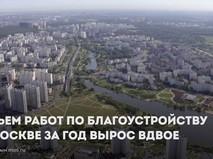 Работы по благоустройству в Москве