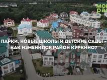 Благоустройство района Куркино