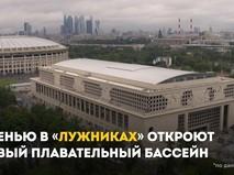 """Бассейн в """"Лужниках"""""""