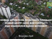 Благоустройство района Внуково