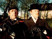 """Шерлок Холмс и доктор Ватсон. Анонс. """"Знакомство"""". """"Кровавая надпись"""""""