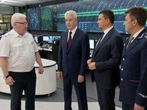 Сергей Собянин в Едином диспетчерском центре метро