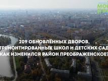 Благоустройство района Преображенское