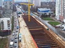 """Строительство новой станции метро """"Зюзино"""""""