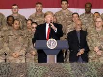Дональд Трамп прибыл в Афганистан