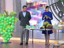 Виноград зелёный кишмиш на развес в крупных ТЦ