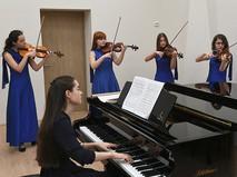 Занятия в детской музыкальной школе имени Ференца Листа