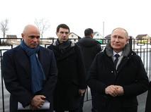 Владимир Путин в Липецкой области