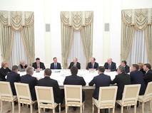 Встреча с ушедшими в отставку членами Правительства
