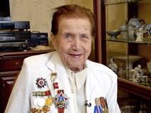 Ветеран Великой Отечественной войны Зоя Зиновьева