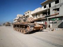 Военная техника Турции в Сирии