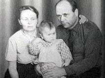 Игорь и Наталья Щорс с сыном