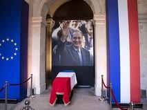 Прощание с бывшим президентом Франции Жаком Шираком