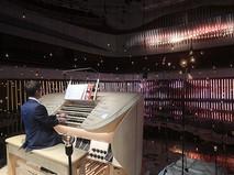 """Большой концертный орган в концертном зале """"Зарядье"""" в Москве"""