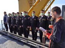 """Траурные мероприятия на месте атонувшего корабля """"Армения"""""""