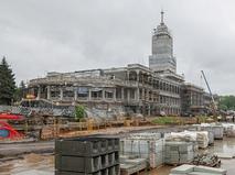 Реставрация Северного речного вокзала