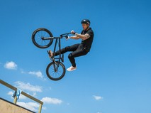 Велотрюки на BMX