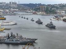 Парад ВМФ во Владивостоке