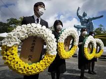 Памятные мероприятия по случаю 75-й годовщины атомной бомбардировки Нагасаки в Японии