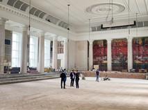 Реставрация актового зала МГУ
