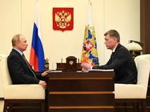 Владимир Путин и Дмитрий Аристов