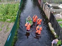 Эвакуация жителей из зоны паводка