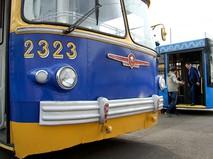 Троллейбусы музейного маршрута