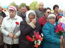 Церемония перезахранения красноармейцев
