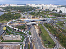 Реконструкция развязки Волоколамского шоссе с МКАД