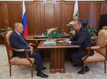 Владимир Путин и Олег Скуфинский