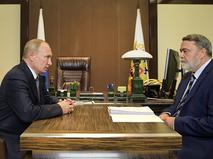Владимир Путинр и Игорь Артемьев