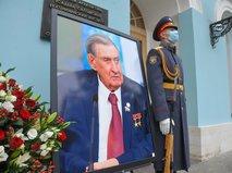 Церемония прощания с бывшим сенатором Владимиром Долгих