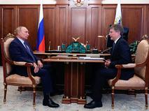Владимир Путин и Сергей Иванов