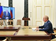 Владимир Путин и Рашид Темрезов