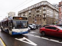 Выделенная полоса для движения общественного транспорта