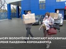 Волонтёры Москвы