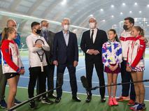 Сергей Собянин посетил спортивные центры в Сокольниках