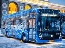 Новогодние электробусы