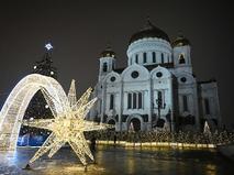 Рождественский сочельник в православной церкви