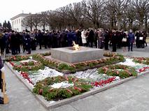Парад в честь 78-летия снятия блокады