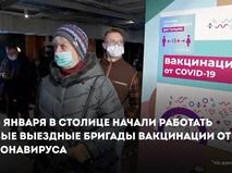 Выездные бригады вакцинации от коронавируса