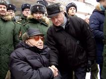 Поздравление ветерана Валентина Рослякова со 105-летием