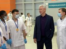 Сергей Собянин во время встречи со студентами