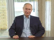 Владимир Путин проводит встречу с учащимися высших учебных заведений