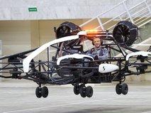 Презентация летающего дрона-такси