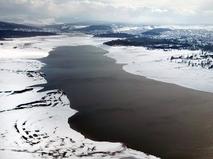 Водохранилище в Крыму