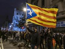 Протесты в Испании